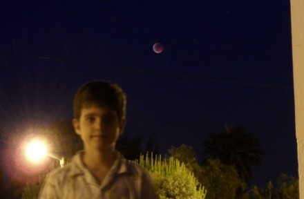 The Total Lunar Eclipse of June 15th, 2011, in Algarve. Image credit: Alexandre Costa.