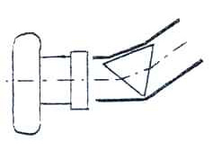Fig. 2 a: Mounting of prism and camera.
