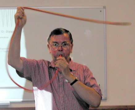Whistle on a String Demonstration.